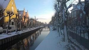 wintergezicht Sloten